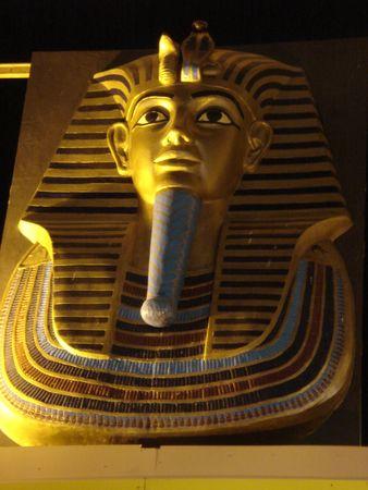 King Tutankhamen of Egypt