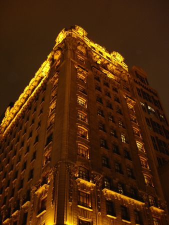Building in New York City photo