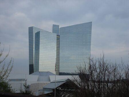 Mohegan Sun Casino in Connecticut Foto de archivo
