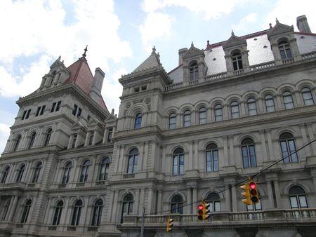 New York State Capitol in Albany, New York Standard-Bild
