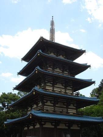 Japanese Pagoda Stock Photo