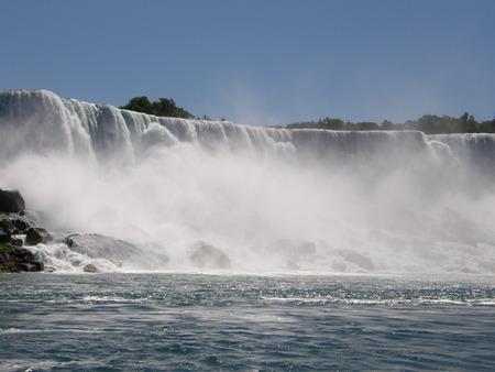 Niagara Falls - USA / Canada Standard-Bild