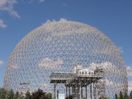 biosphere: Biosphere in Montreal, Canada Stock Photo
