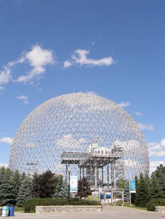 Biosphere in Montreal, Canada Foto de archivo