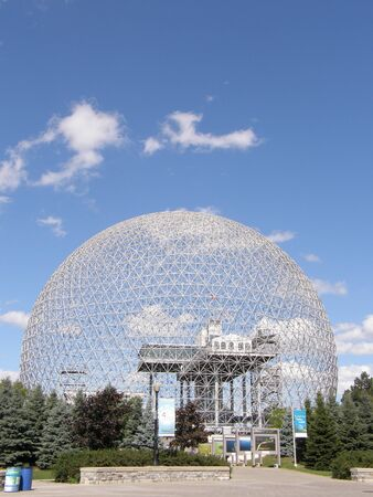 Biosphere in Montreal, Canada Imagens - 1650032