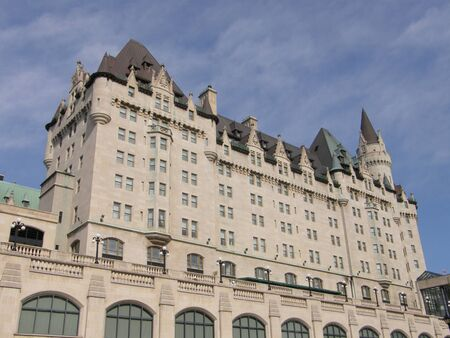 Chateau Laurier in Downtown Ottawa, Canada photo