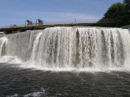 gush: Rideau Falls in Ottawa, Canada