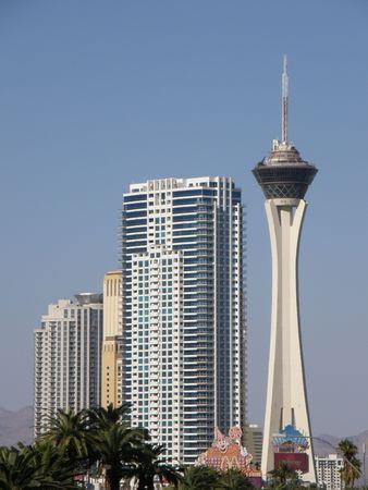 Hotel & Casino in Las Vegas Stockfoto
