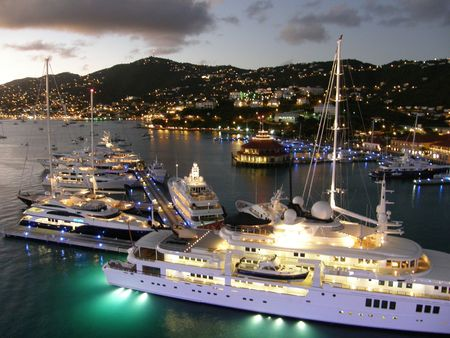 St Thomas in the US Virgin Islands Imagens