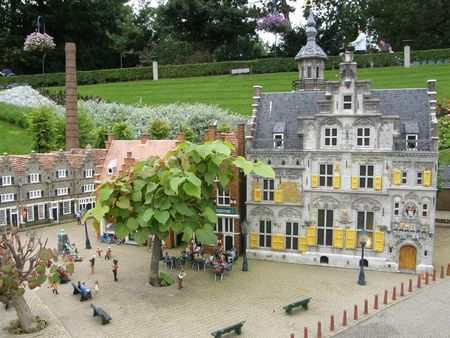 Madurodam (Miniature City) at the Hague in Netherlands