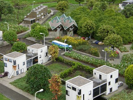 Madurodam (Miniature City) at the Hague in Netherlands Stock Photo - 3551608