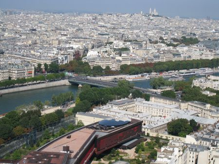 Aerial View of Paris, France Stock Photo - 3589188