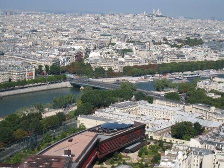 Aerial View of Paris, France photo