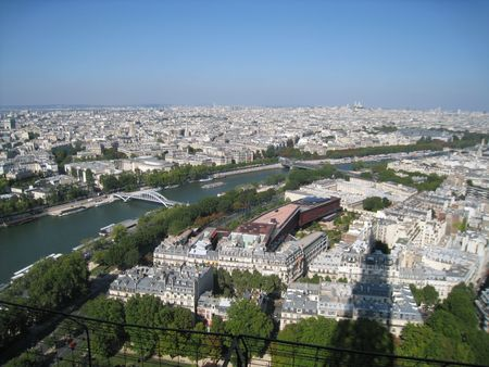Aerial View of Paris, France Stock Photo - 3589183