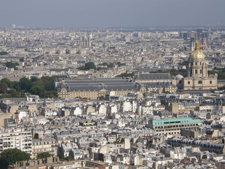 Aerial View of Paris, France Stock Photo - 3589182