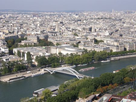 Aerial View of Paris, France Stock Photo - 3589184