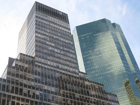 Skyscraper in New York City, USA photo