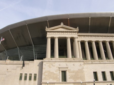 art museum: Soldier Field in Chicago (USA)
