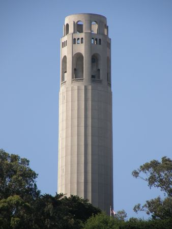 Coit Tower in San Francisco Stock Photo - 5171923