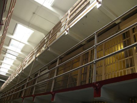 Alcatraz Island Prison Cells photo