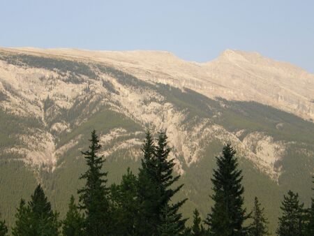 Rocky Mountains in Alberta, Canada photo
