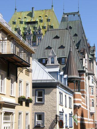 Quebec City in Canada Editorial