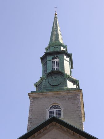 Church in Quebec City, Canada photo