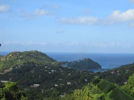 lucia: St Lucia in the Caribbean  Stock Photo