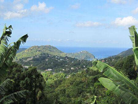 St Lucia in het Caribisch gebied Stockfoto