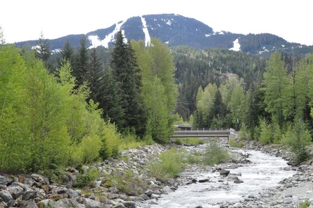 Whistler Blackcomb in British Columbia, Canada photo
