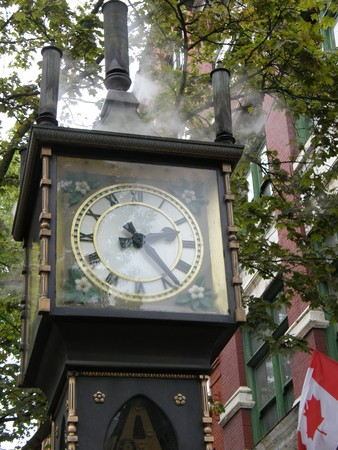 Steam Clock in Gastown in Vancouver, Canada photo