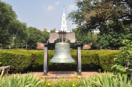 dover: Bell in Delaware Stock Photo