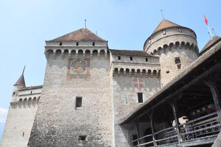 chillon: Chillon Castle in Montreux, Switzerland