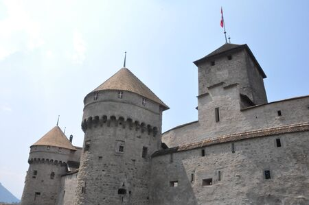 Chillon Castle in Montreux, Switzerland Stock Photo - 7650440