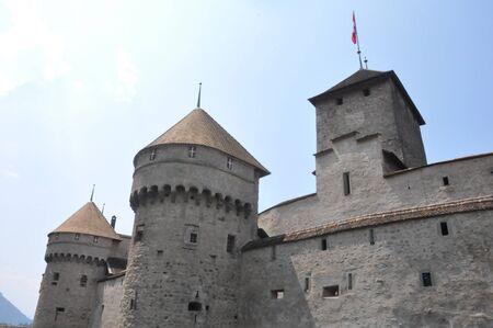 Chillon Castle in Montreux, Switzerland Stock Photo - 7650440