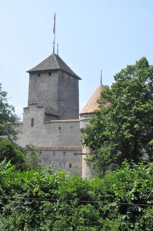 Chillon Castle in Montreux, Switzerland Stock Photo - 7692043