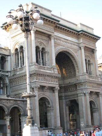 Gallery in Milan, Italy 新闻类图片