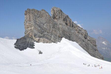 Mount Titlis in Switzerland photo