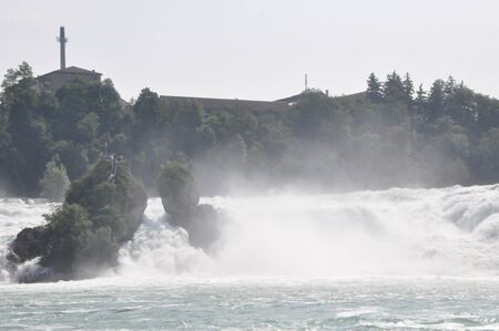 Rhine Falls at Switzerland and Germany