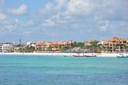 Playa Del Carmen Mexiko Standard-Bild - 8039911