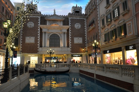 Venetian Hotel and Casino in Macau