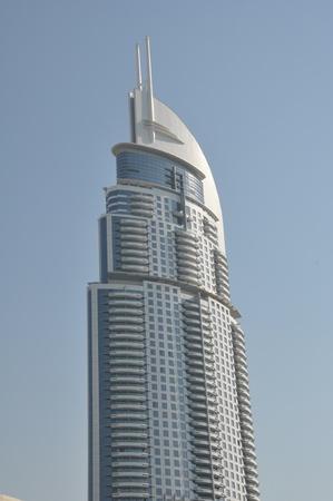 Skyscraper in Dubai, UAE photo