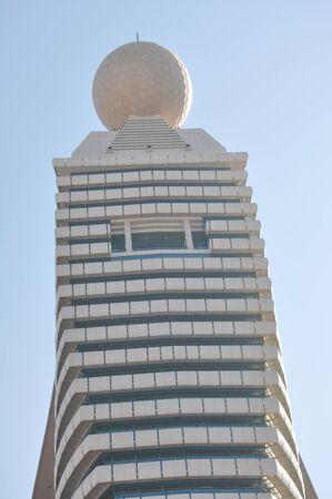 Etisalat Tower in Dubai, UAE Banco de Imagens