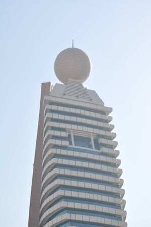 Etisalat Tower in Dubai, UAE Imagens