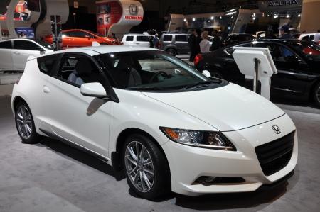 TORONTO - FEBRUARI 24: Honda op de Canadese International Auto Show 2011 op 24 februari 2011 in Toronto