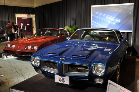 TORONTO - FEBRUARY 24: Cars displayed at the 2011 Canadian International Auto Show on February 24, 2011 in Toronto