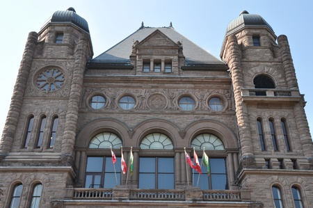 Ontario Legislative Building in Toronto
