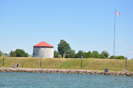 kingston: Fort Henry in Kingston, Ontario in Canada Editorial