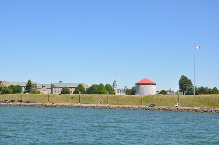 kingston: Fort Henry in Kingston, Ontario in Canada Stock Photo