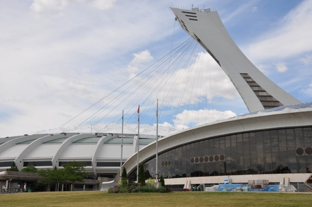 Olympisch Stadion in Montreal, Canada Stockfoto - 10605378